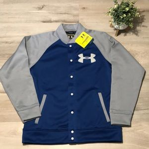 Under Armour Cold gear storm button down sweater